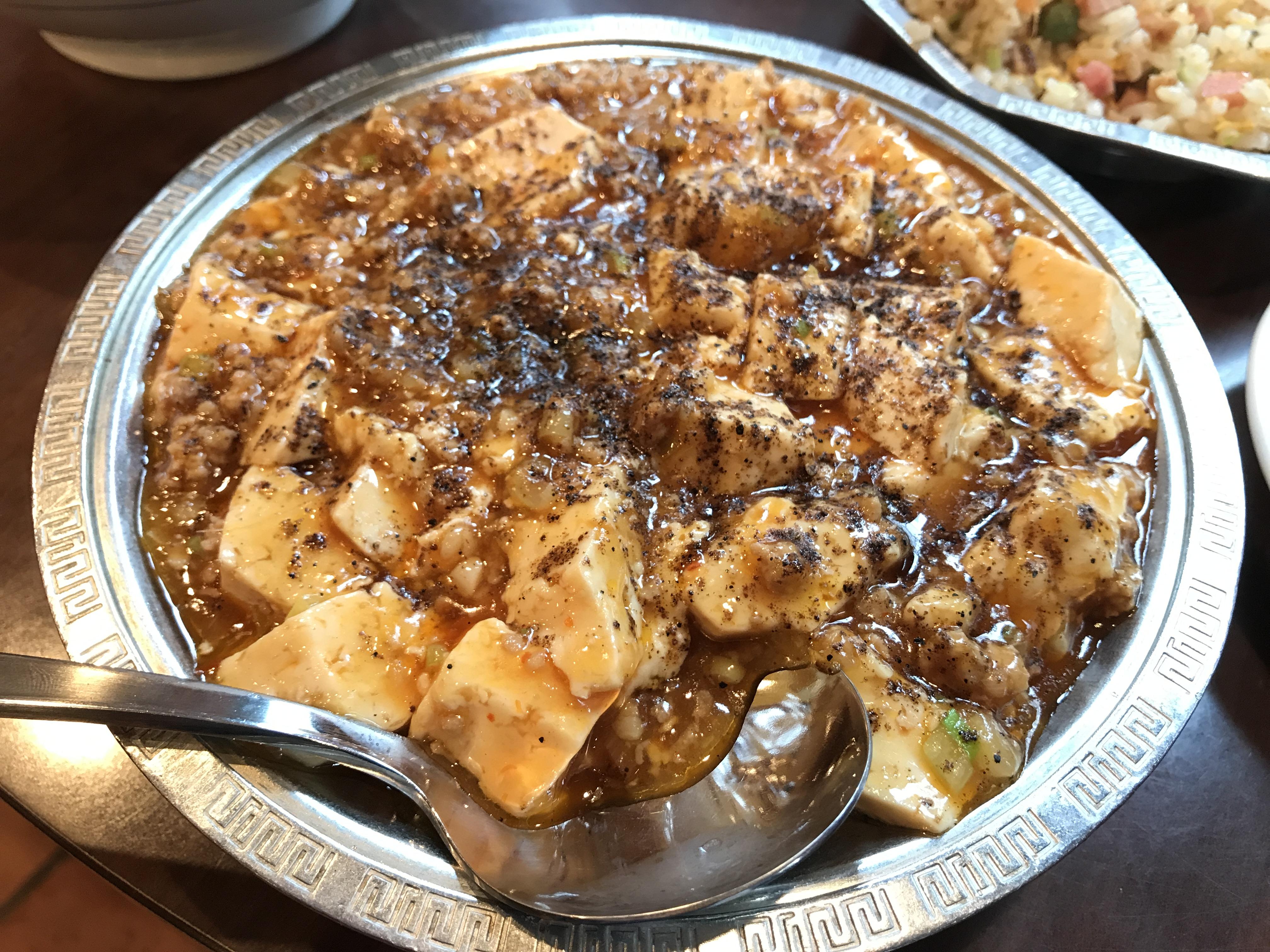 渋谷「麗郷」の麻婆豆腐