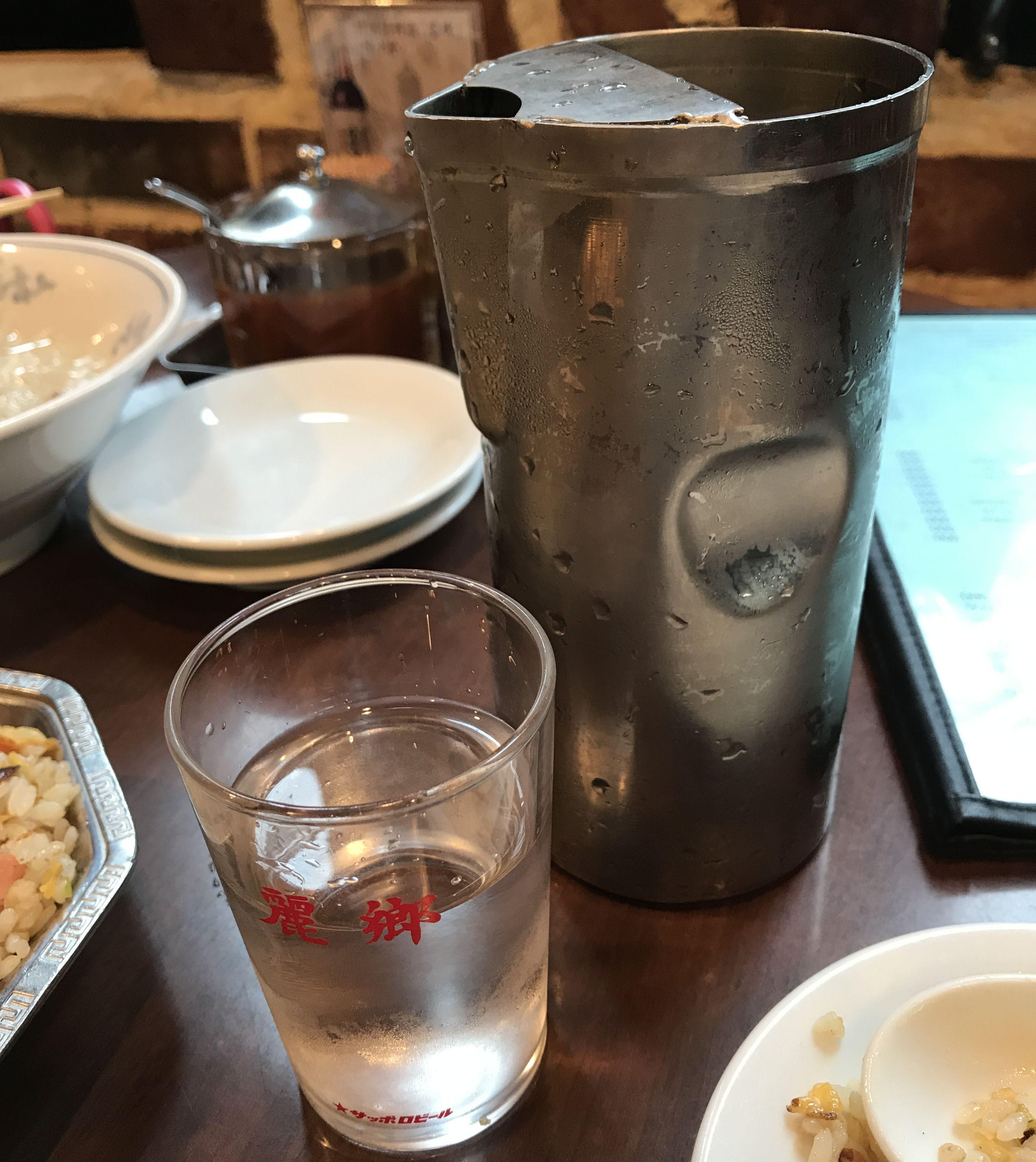 渋谷「麗郷」の水