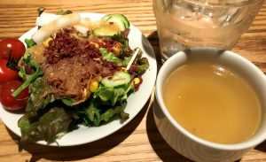GABRI SHAREのサラダとスープ